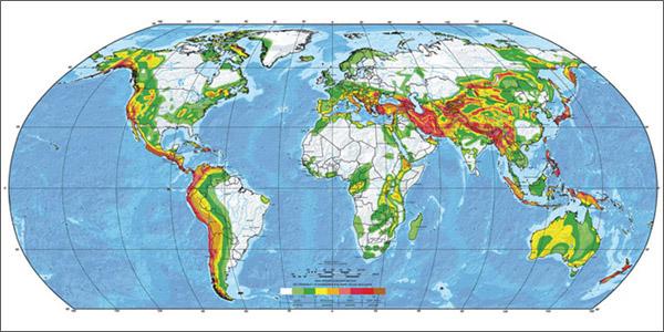 Mapa de Riesgo Sísmico Global (1999)