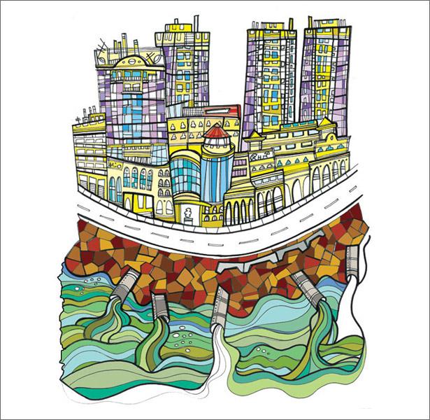 La muestra Visualizaciones de Santo Domingo: Estrategias para un Santo Domingo más Sostenible