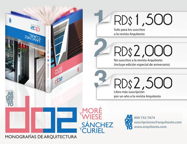 """Promoción Libro """"DO2 Monografías de Arquitectura"""""""