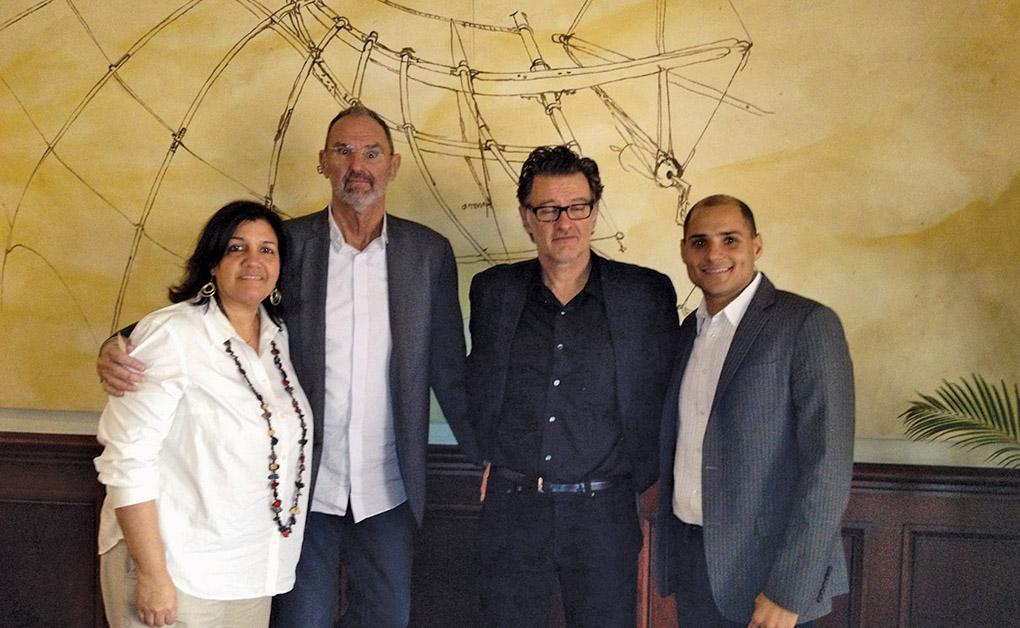Carmen Ortega, Thom Mayne, Jean-Philippe Vassal y Alex Martínez