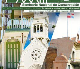 XXXIII Seminario Nacional de Conservación